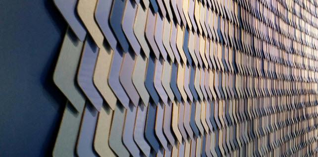 texture wall design commercial interior