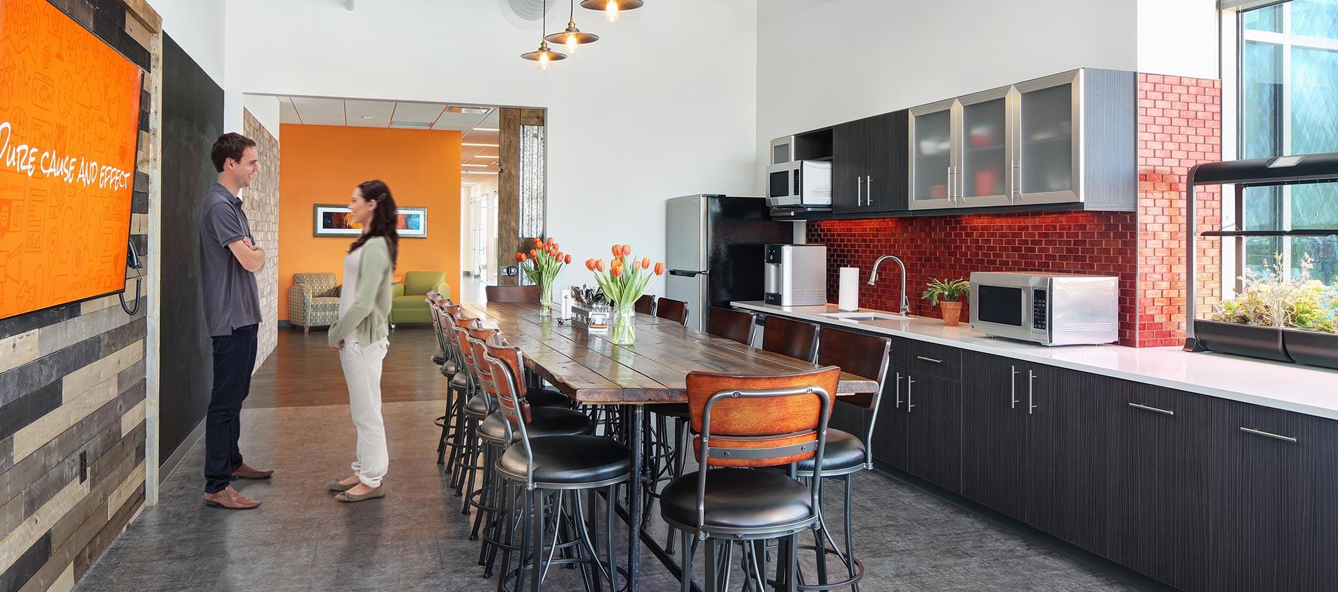 warm welcoming office design trends
